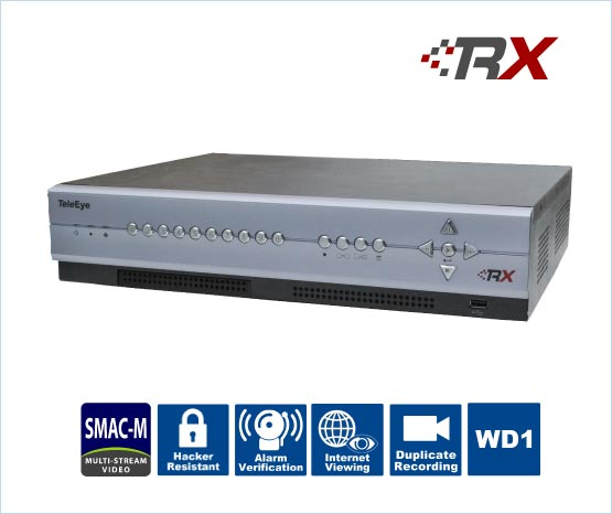 RX ultra-high resolution analogue digital video recorder