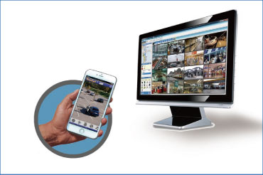 AHD video management software