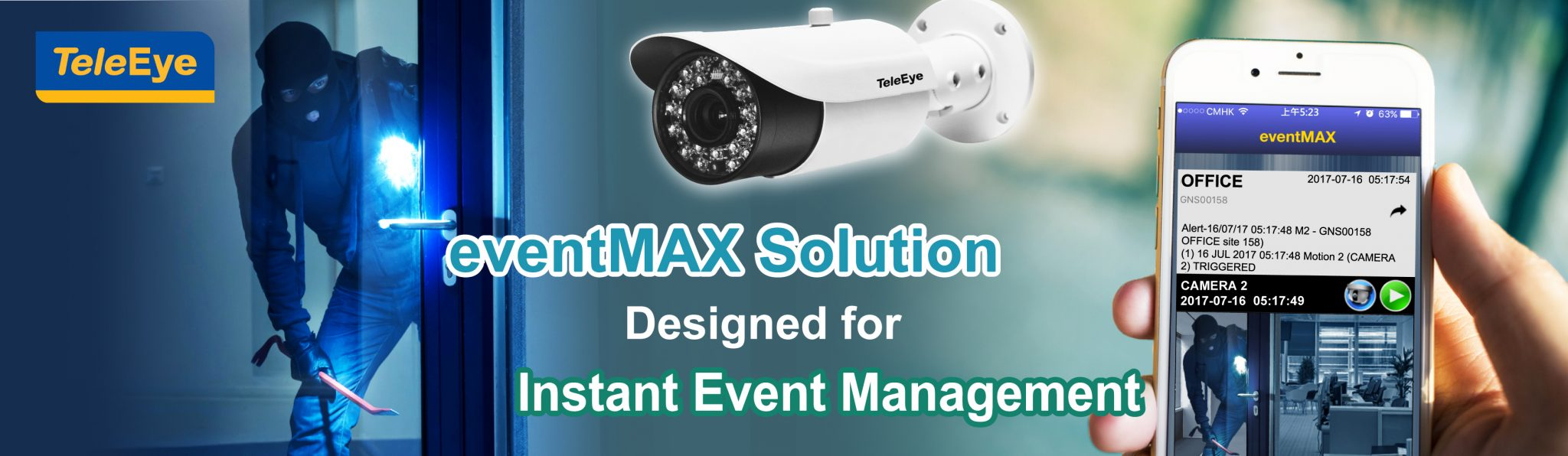 Intelligent Mobile Security eventMax Solution